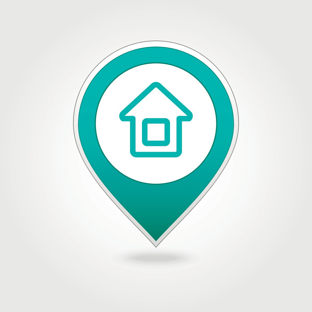 Home icon for maps