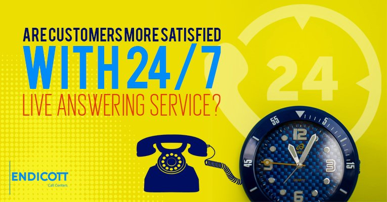 Are Customers More Satisfied With 24/7 Live Answering Service?