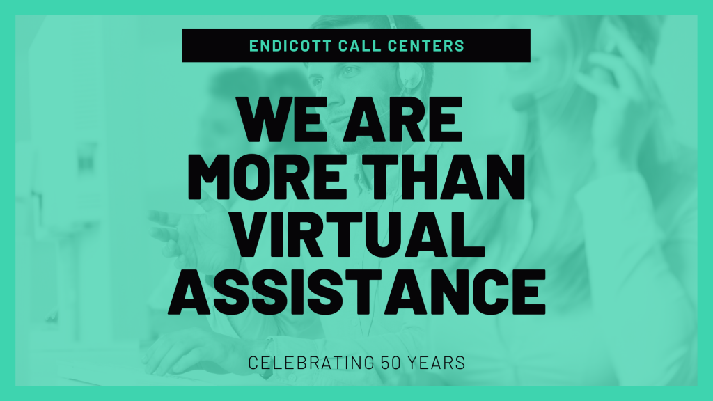 We are more than virtual assistance